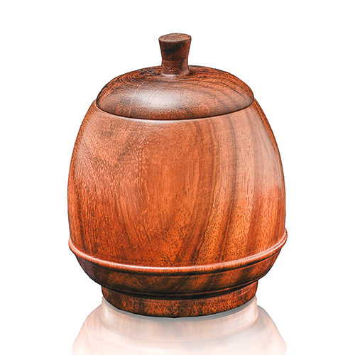 Wooden Candy Jar Small
