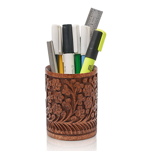 Pen Jar Carving