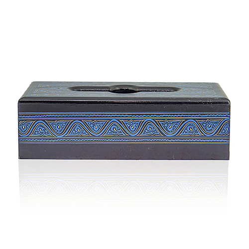 Wooden Tissue Box Painted
