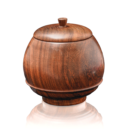 Wooden Candy Jar Large