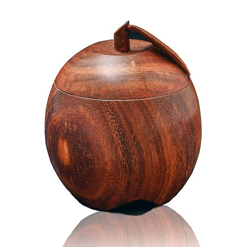Wooden Tea Mat Leaf