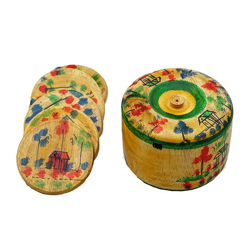 Make Your Home Beautiful Under $10 Wooden Tea Mat Yellow