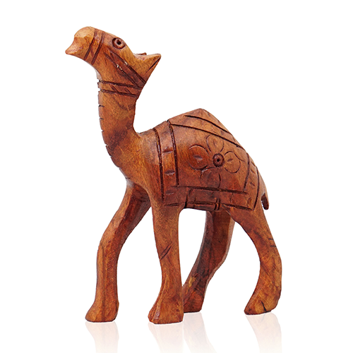 Wooden Camel Carving