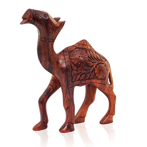 Wooden Camel Standing