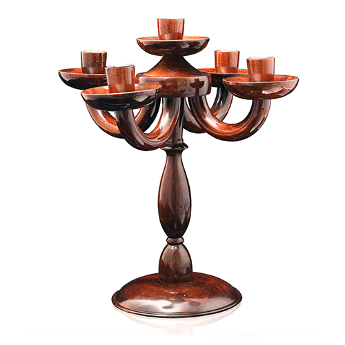Wooden Candle Stand Five
