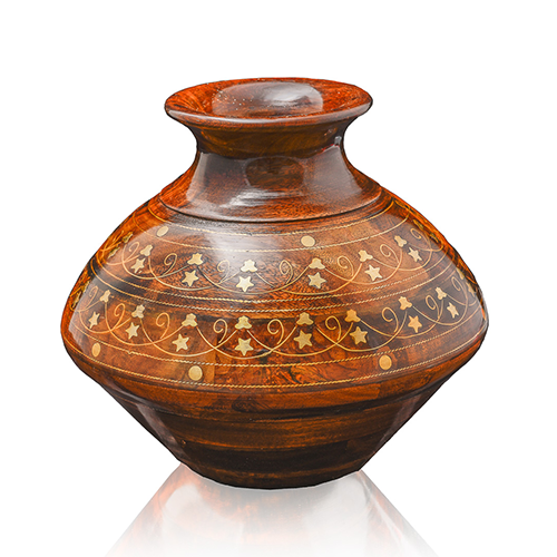 Wooden Earthenware Ghara
