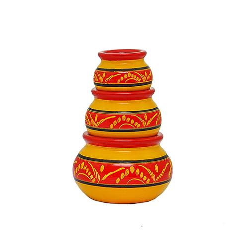 Wooden Earthenware Yellow