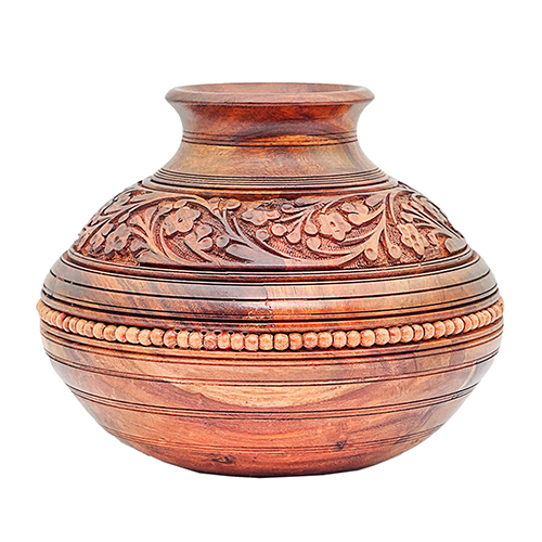 Wooden Ghara Carved