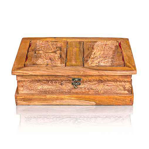 Wooden Quran Box and Rehal Carving