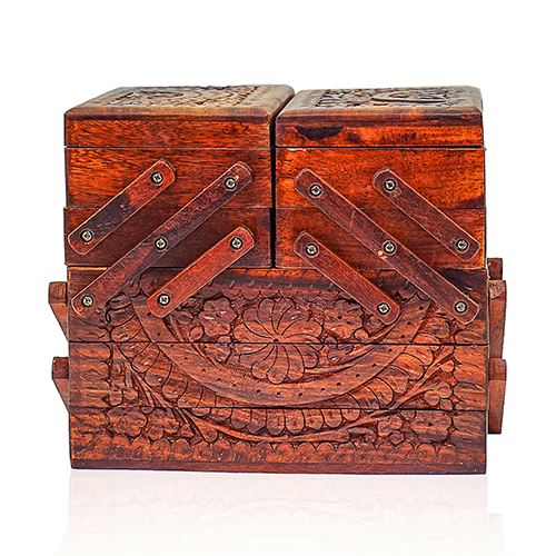 Wooden Jewelry Box Singhar