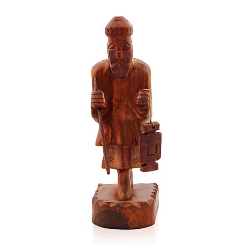 Man Statue with Lantern