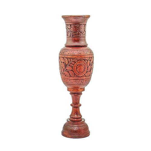 Wooden Flower Pots for Home Decorations Wooden Flower Pot Carved