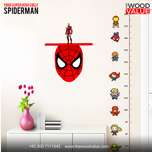 Spiderman Shelf for kids