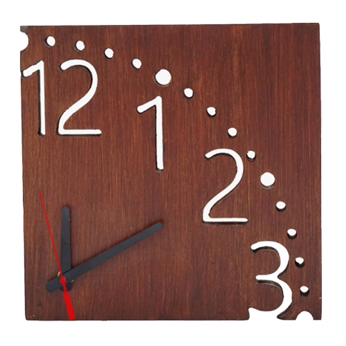Wooden Clock Square Customized