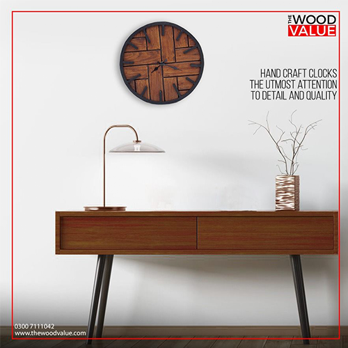 Wooden Clock Blocks Customized