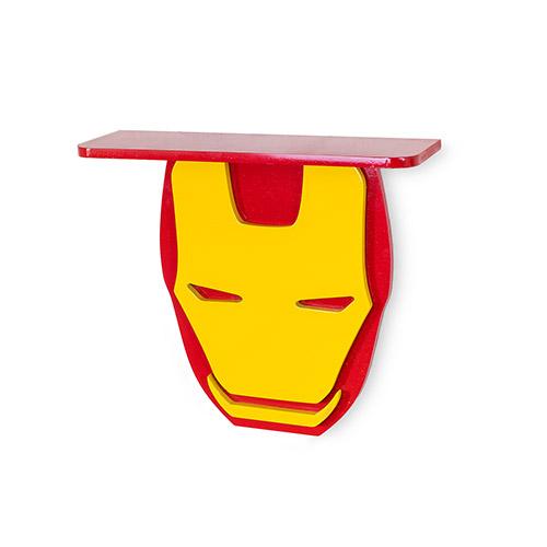 Superhero Wall Shelves for Your Kid's Room Iron man Shelf