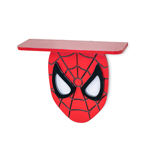 Superhero Wall Shelves for Your Kid's Room Spiderman Shelf