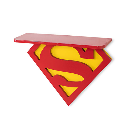 Superhero Wall Shelves for Your Kid's Room Superman Shelf