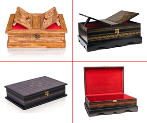 islamic decor wooden quran box rehal