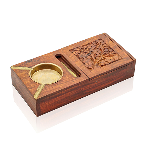 Make Your Home Beautiful Under $10 Wooden Ashtray Cigarette Box