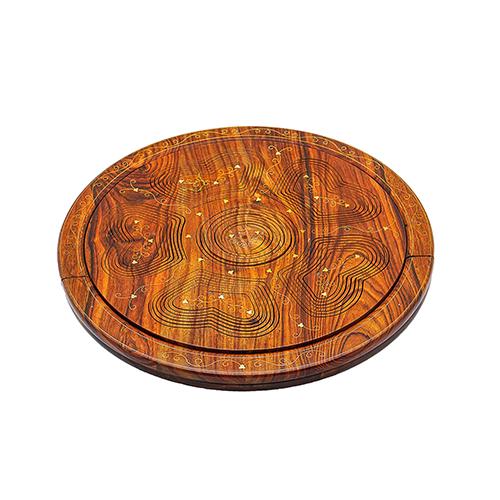 Wooden Fruit Folding Basket 6 Portion