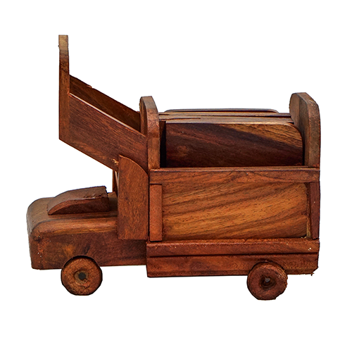 Wooden Tea Mat Truck
