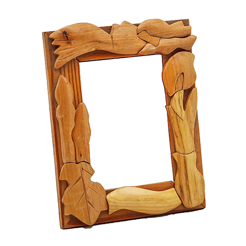 Wooden Photo Frame Design