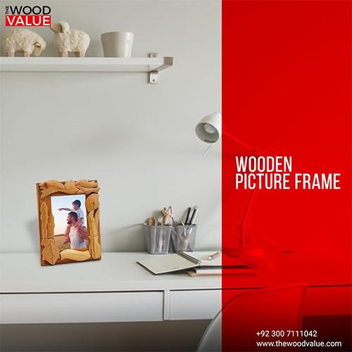 Wooden Photo Frame Design