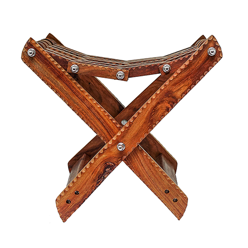 Handmade Products in Pakistan Wooden Folding Stool