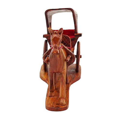 Wooden Horse Buggy