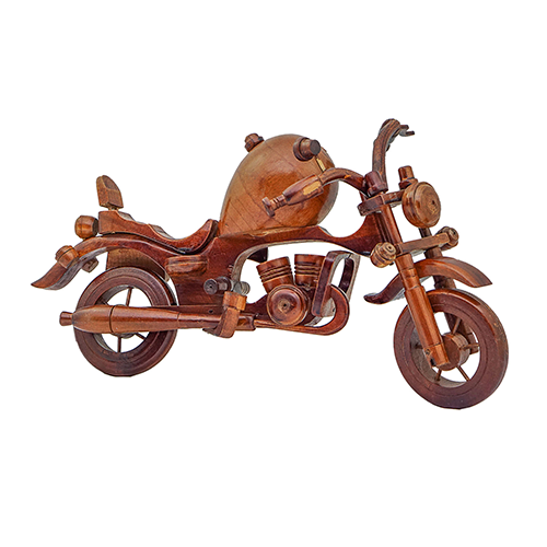 Handmade Products in Pakistan Wooden Motorcycle