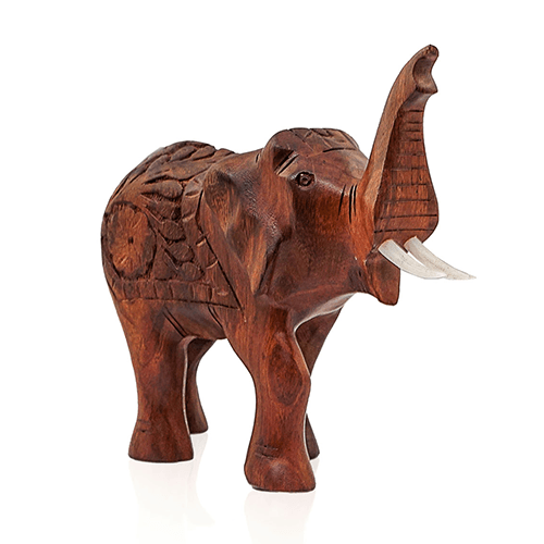 Wooden Elephant Carved