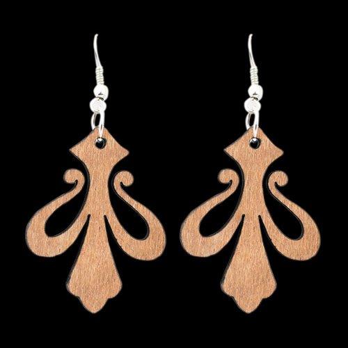 Wooden Earring 105