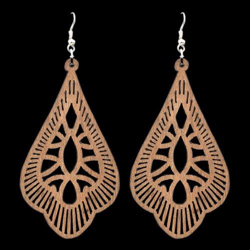 Wooden Earring 107