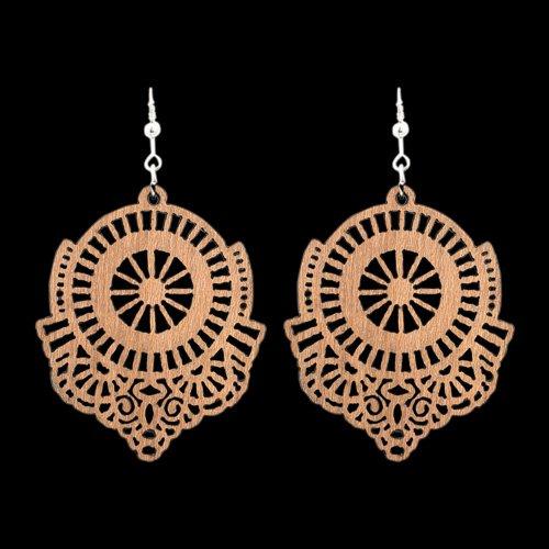 Wooden Earring 110