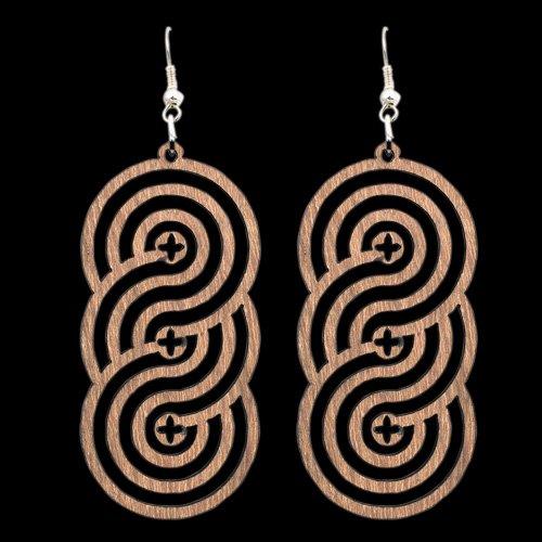 Wooden Earring 111