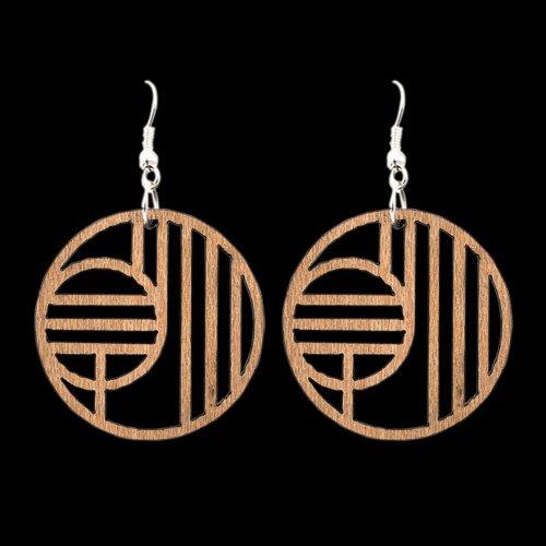 Wooden Earring 112