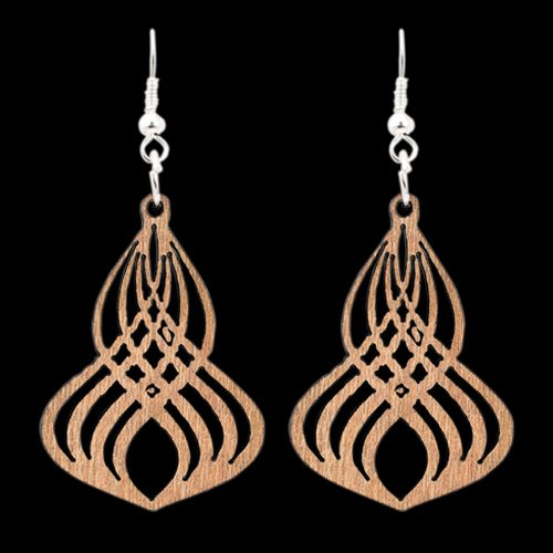 Wooden Earring 113