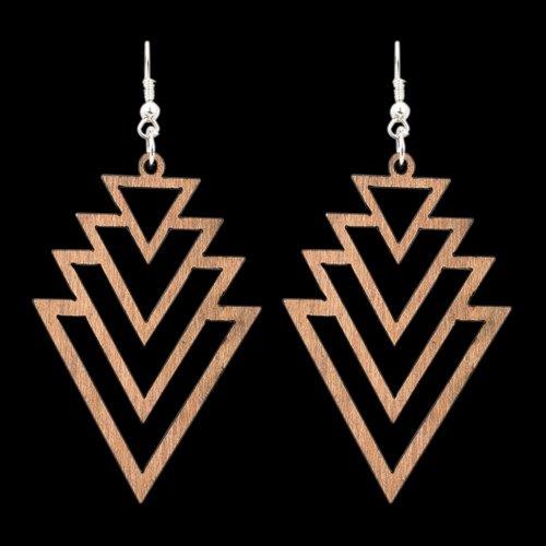 Wooden Earring 114