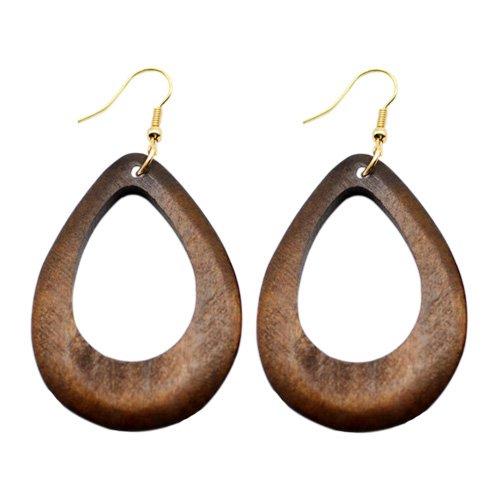 Wooden Earring 117
