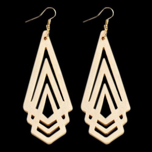 Wooden Earring 119