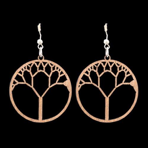 Wooden Earring 122