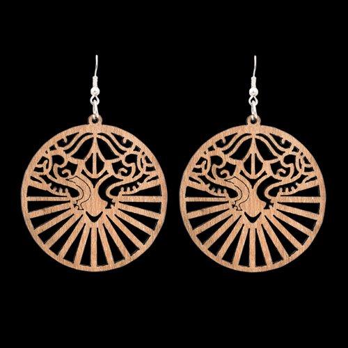 Wooden Earring 123