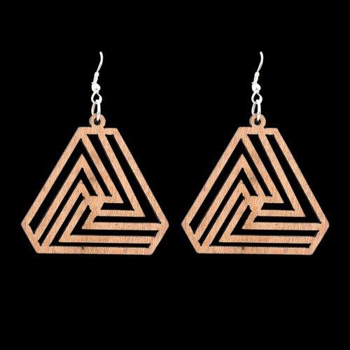 Wooden Earring 124