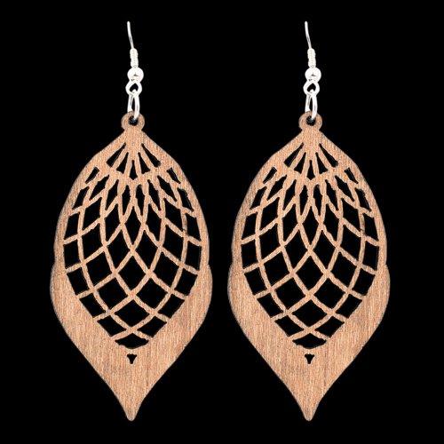 Wooden Earring 126