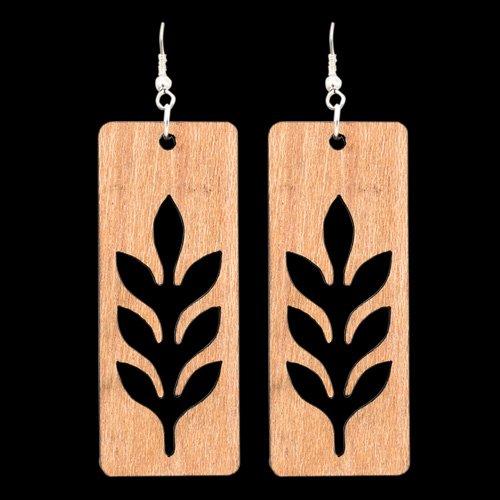 Wooden Earring 127