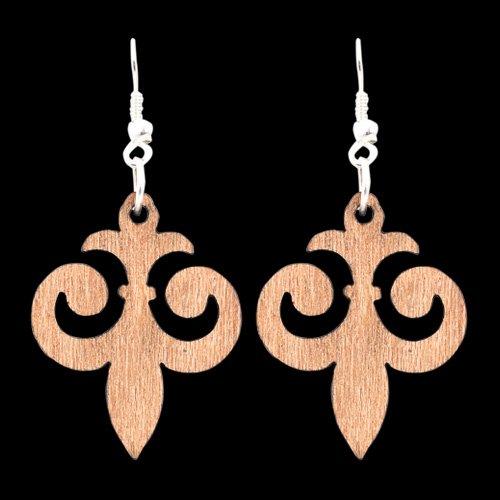 Wooden Earring 129