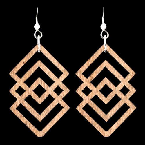 Wooden Earring 131