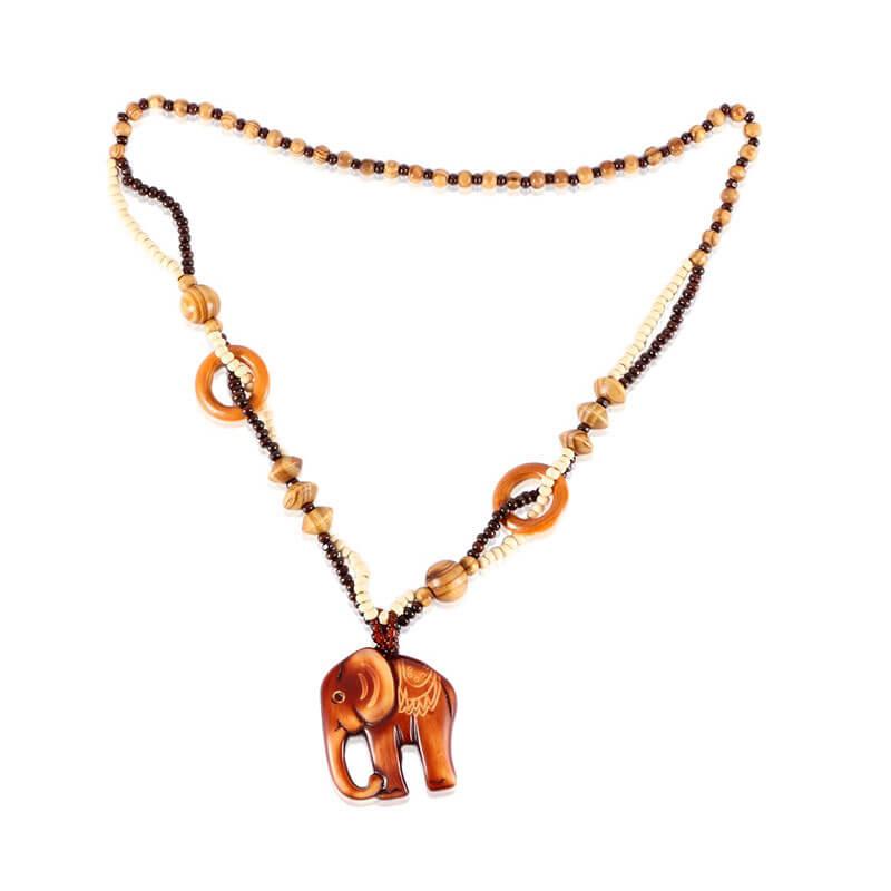 Bohemia Jewelry Elephant Pendant for Women's Fashion