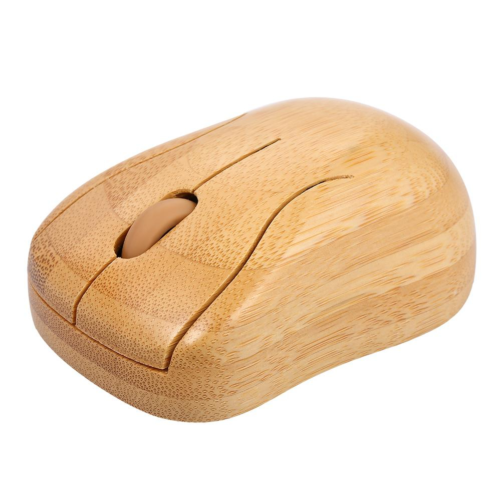 Wireless Bamboo PC Keyboard and Mouse Combo